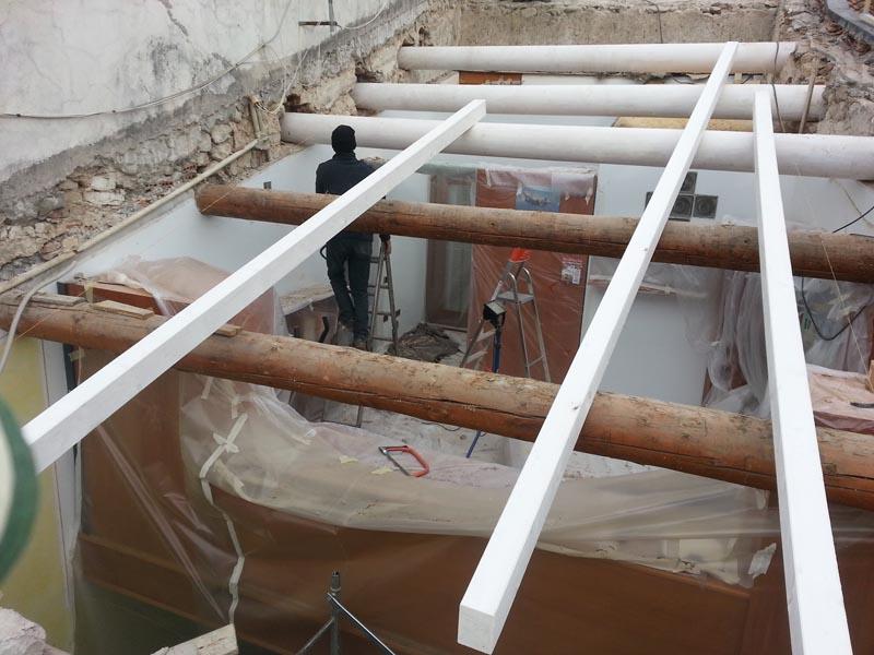 Lavori di ristrutturazione completa del tetto con l'utilizzo dell'unicoppo possagno 4