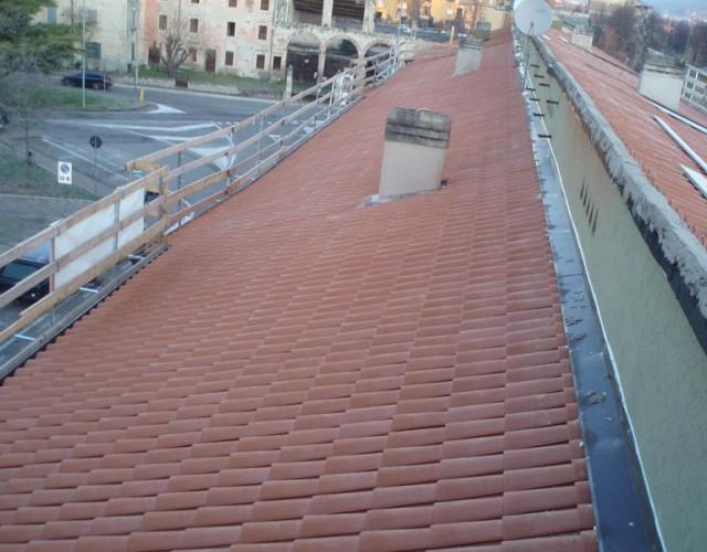 Copertura tetti in coppi a Verona