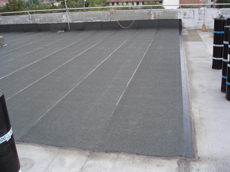 Impermeabilizzazione tetto piano 5