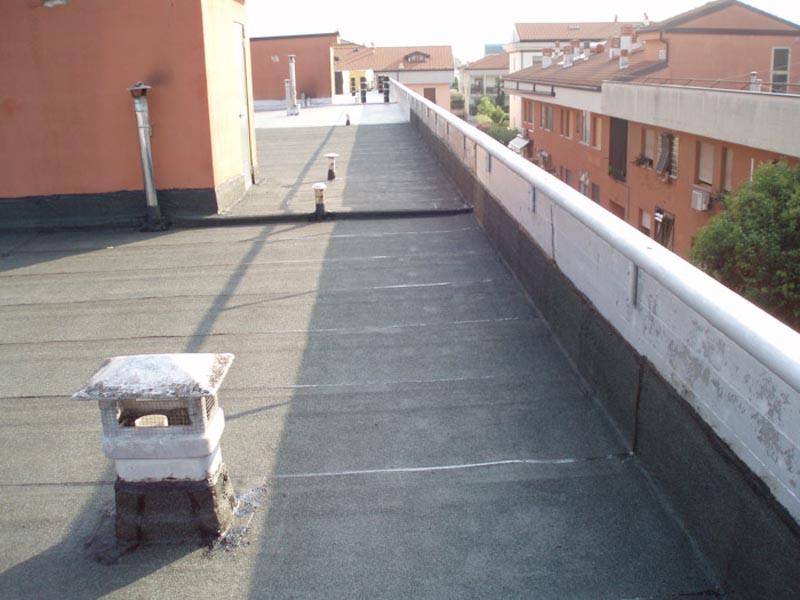 Impermeabilizzazione tetto piano 2