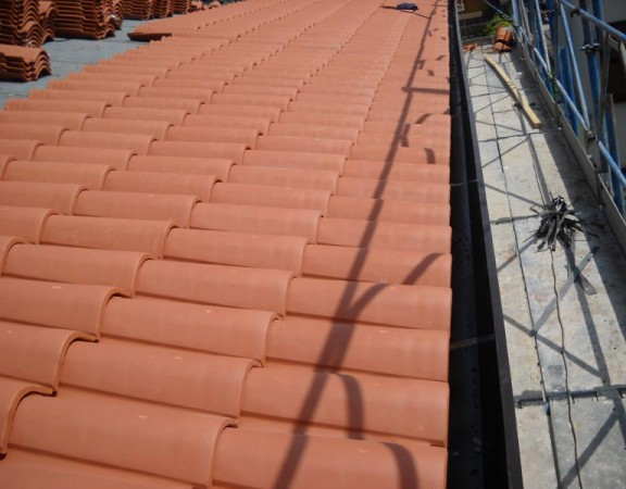 Rifacimento copertura tetti in coppi