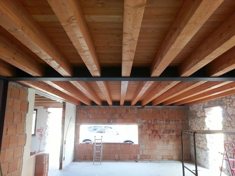 Costo rifacimento solaio in legno – Profilati alluminio