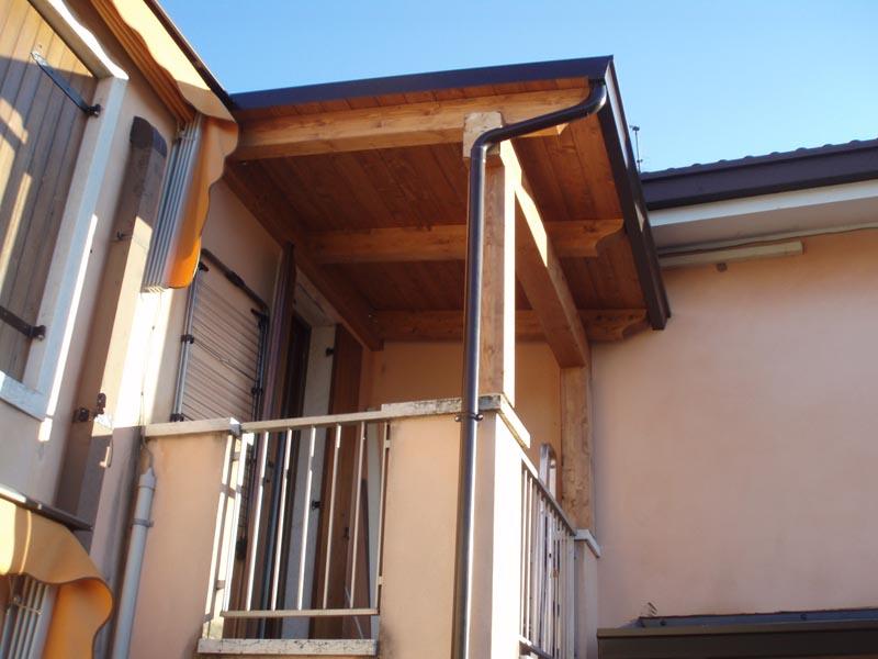 Pensiline e tettoie in legno civer coperture edili