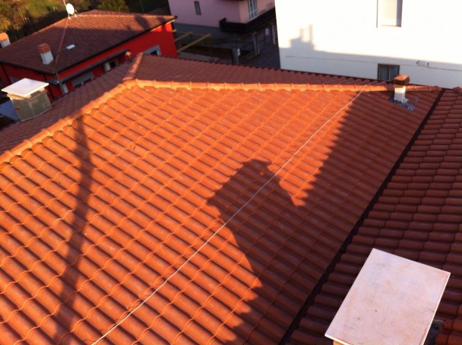 Civer snc rifacimento tetto condominiale for Civer coperture