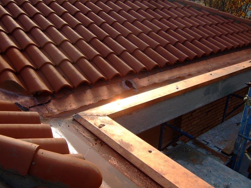 Costruzione di un tetto panoramico