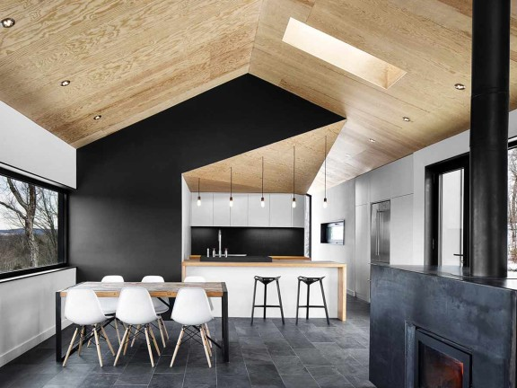 tetto in legno