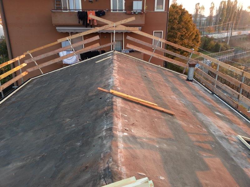 Rifacimento tetto Vicenza