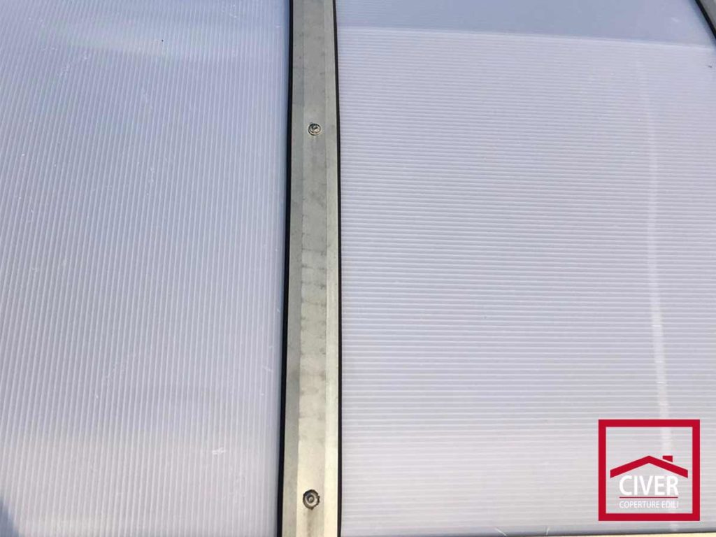 lucernari in policarbonato
